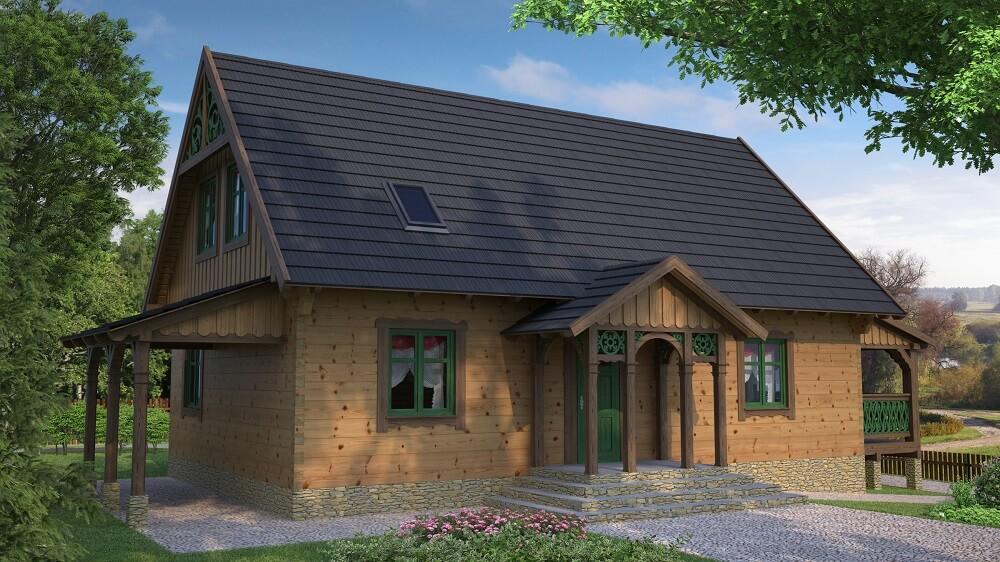 projekt-domu-drewnianego-borowina-510