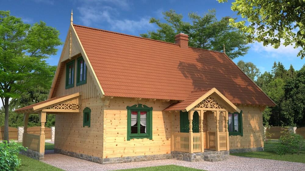 projekt-drewnianego-domu-mazurskiego-borowina-1.9