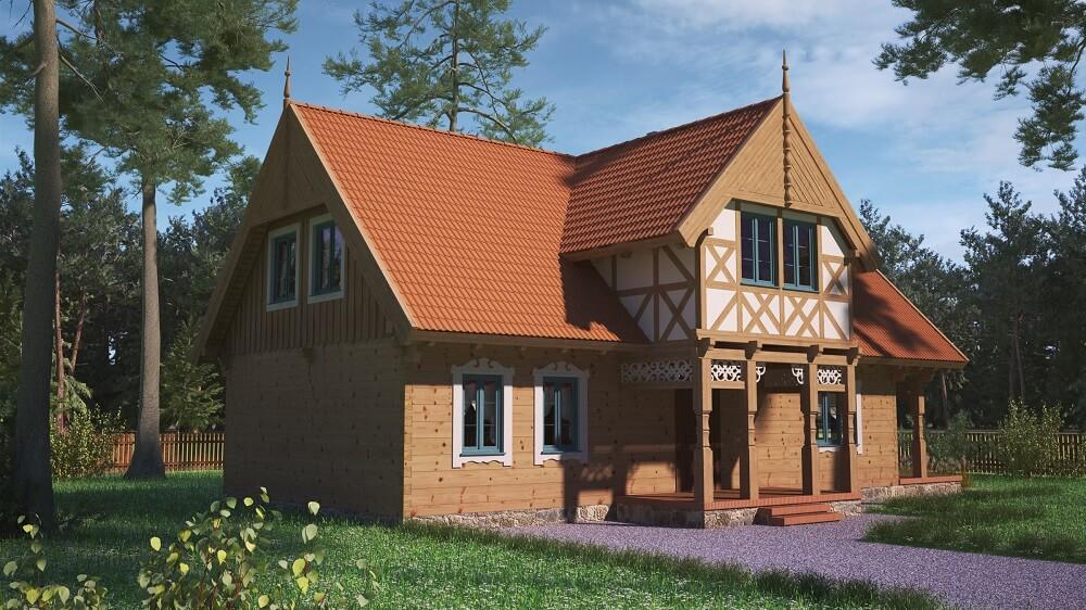 projekt-regionalnego-domu-drewnianego-mazurskiego-uciecha-110