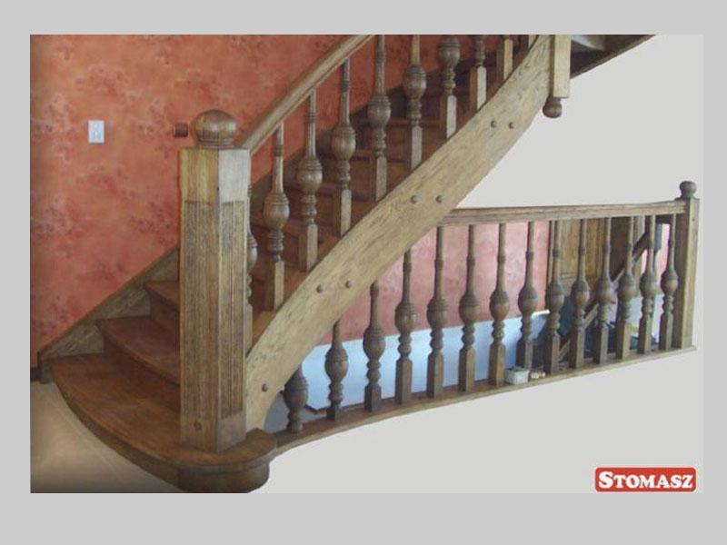 Domy z bali - Stolarka - Schody