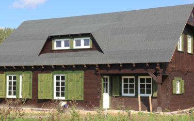 Budowa domu z bali w Mrągowie