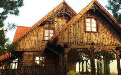 Dom z bali w Drohiczynie