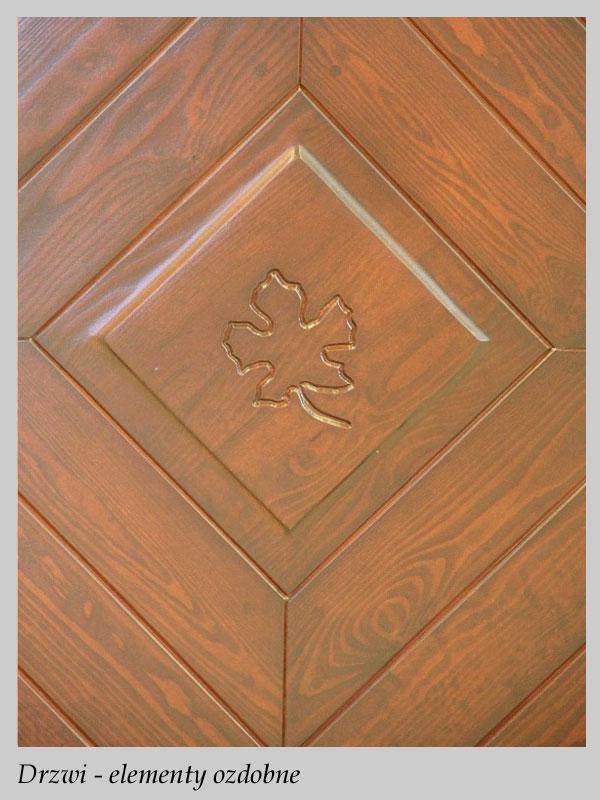 Domy z bali - Stolarka - Drzwi